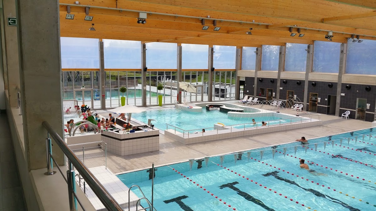 Mijn zwemparadijs breekt het bezoekersrecord in 2016 for Piscine halle