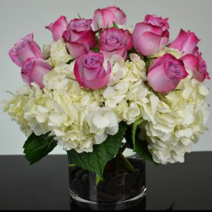 lavender roses-white hydrangeas-sameday delivery-san rafael-ca