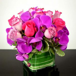 roses-and-orchids-centerpiece-delivery-in-san-rafael-marin-county