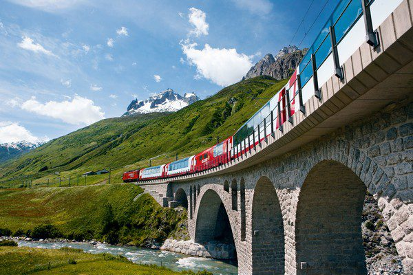 Swiss Rail Holiday: Ancona & Switzerland by Car & Train: Ffestiniog Travel 1