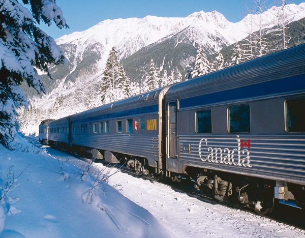 The Canadian in Winter 2020 | Great Rail 1