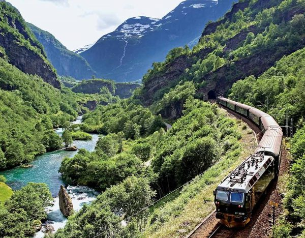 Fjords Cruise & Historic Cities of Norway   Great Rail 1
