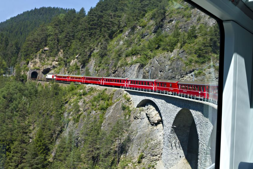 Glacier Express - The Slowest Express Train in the World! 5