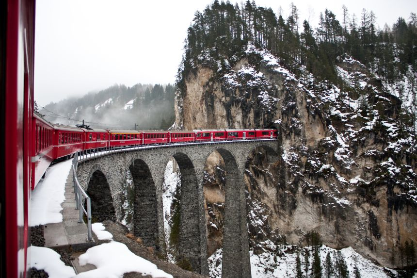 Glacier Express - The Slowest Express Train in the World! 3