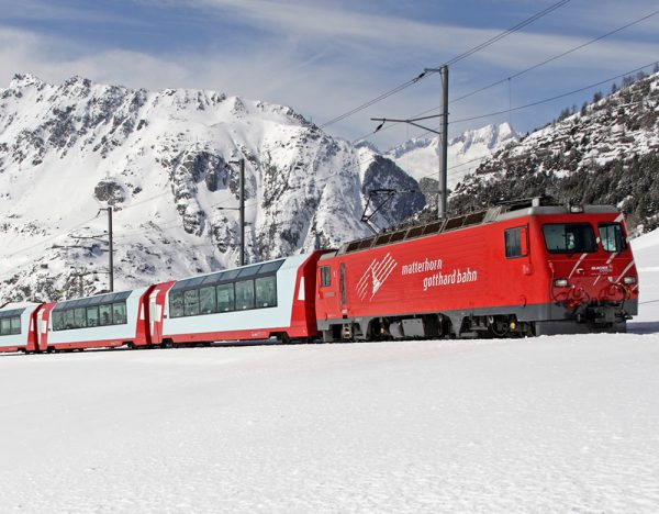 First Class Glacier Express at Christmas | Great Rail 1