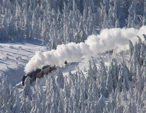 The Harz Mountains in Winter 2020   Great Rail 1