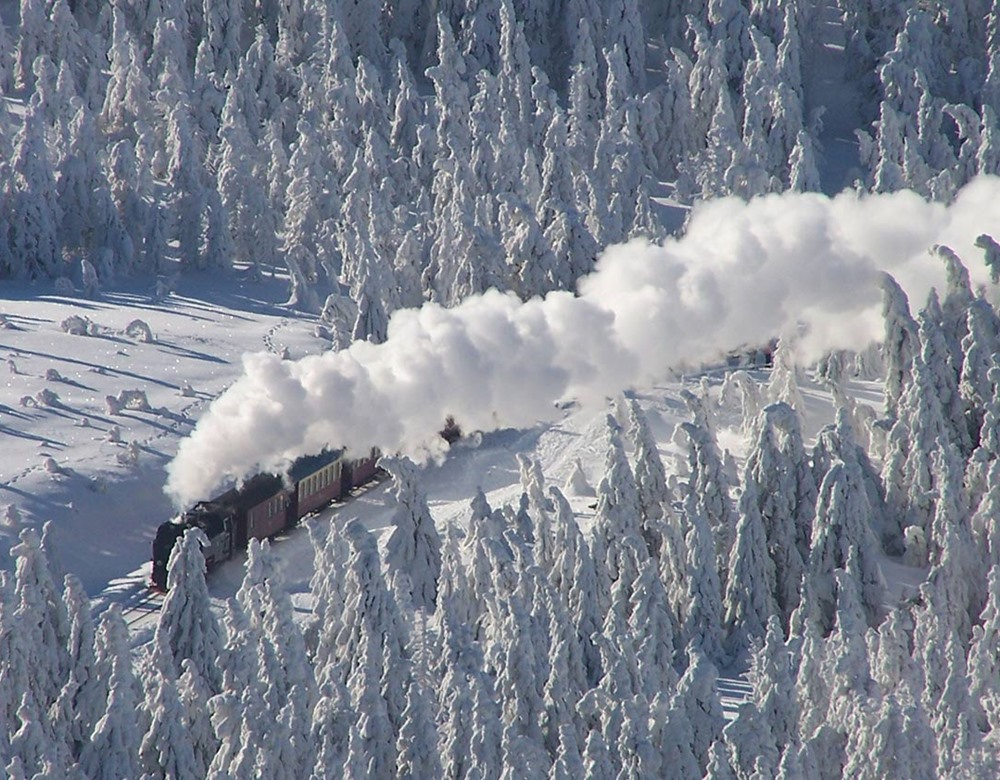 The Harz Mountains in Winter 2020   Great Rail