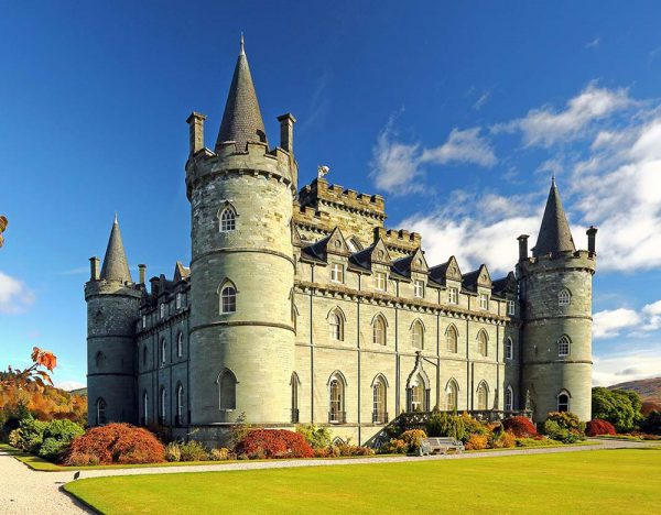 A Castle On The Shores Of Loch Fyne | Great Rail 1