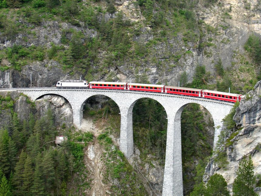 Glacier Express – The Slowest Express Train in the World!