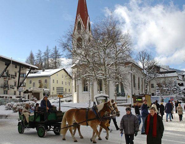 The Alps of the Austrian Tyrol in Winter 2020 | Great Rail 1