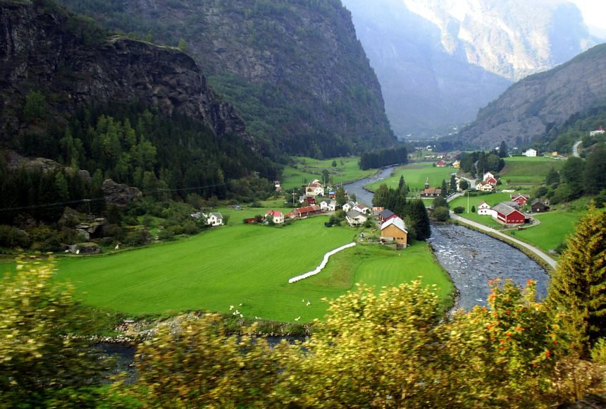 Bergen and Flam - Views