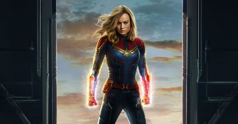 Captain Marvel Destroys Projections Image