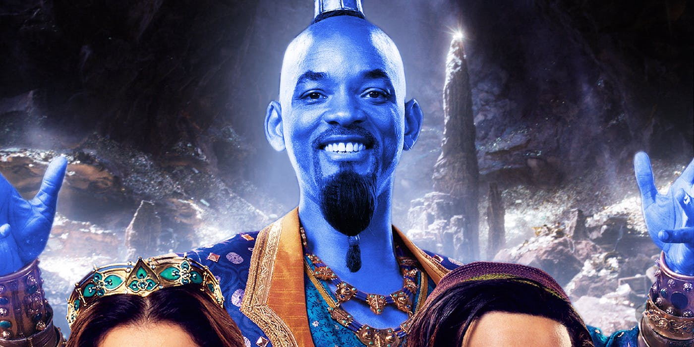 Will Smith Brings Out the Genie in the New Aladdin Trailer Image