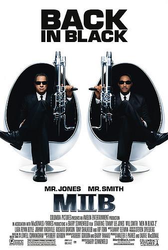 Men in Black II poster