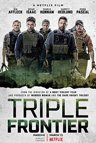 Triple Frontier poster