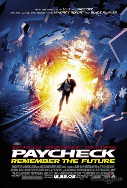 Paycheck poster