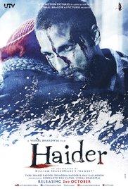 Haider poster