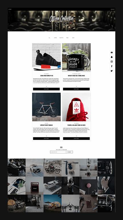 example gear blog shop