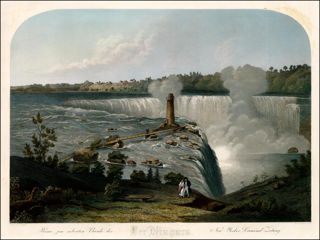 Der Niagara -- Prairie zum siebenten Bande der New-Yorker, Criminal-Zeitung By Frederick Girsch