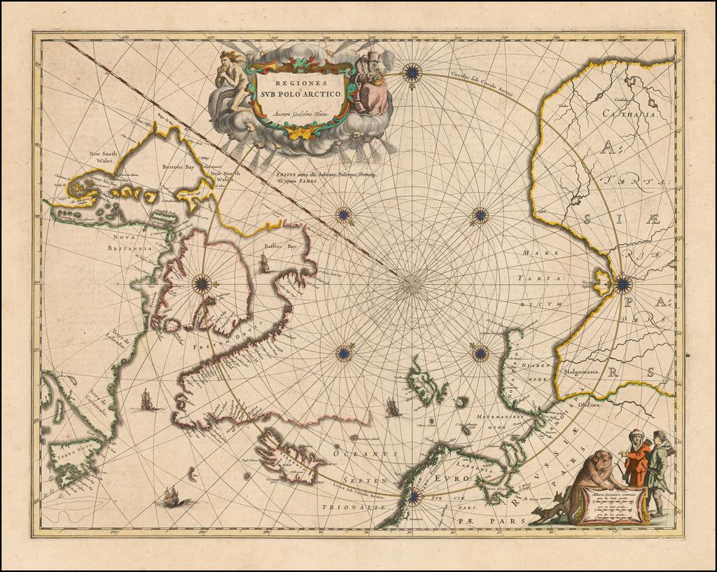Regiones Sub Polo Arctico . . .  By Johannes Blaeu