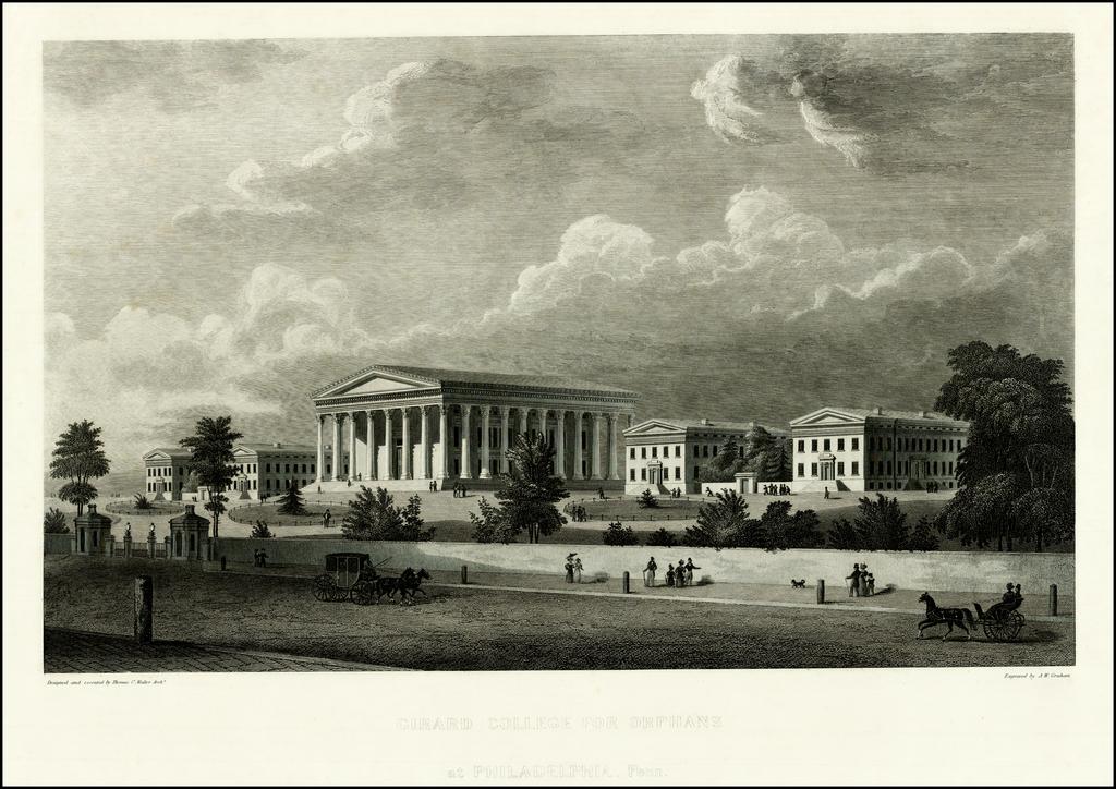Girard College for Orphans at Philadelphia, Penn. By Albert W. Graham