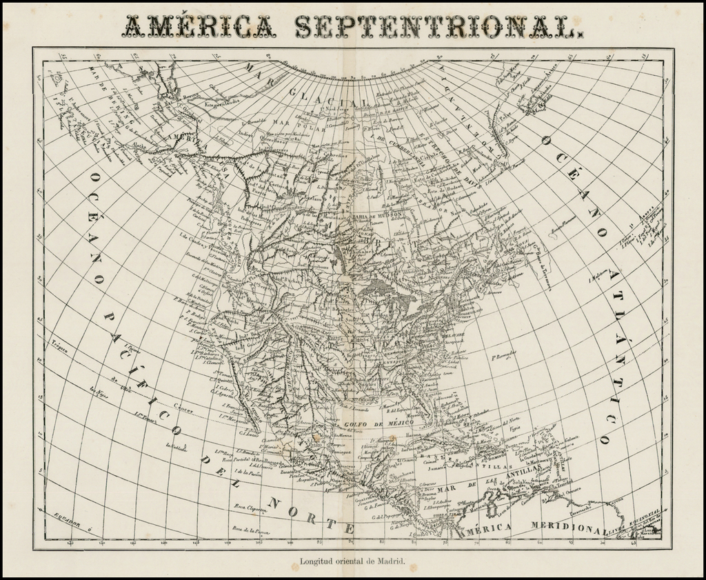 America Septtenrional. By Anonymous