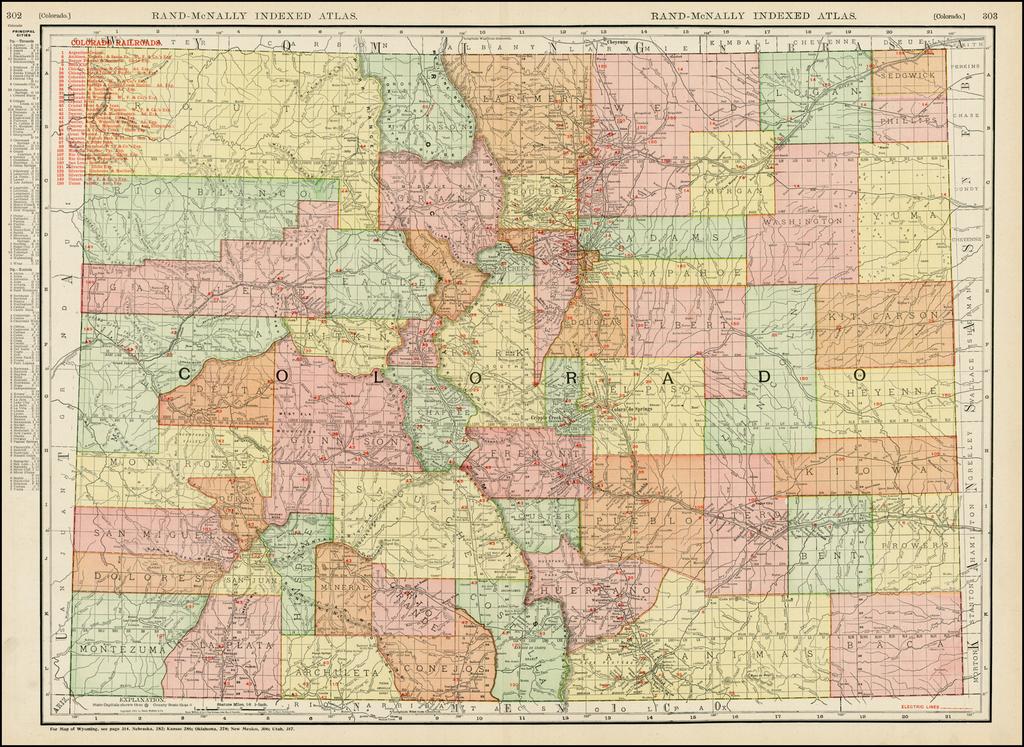 Colorado By Rand McNally & Company