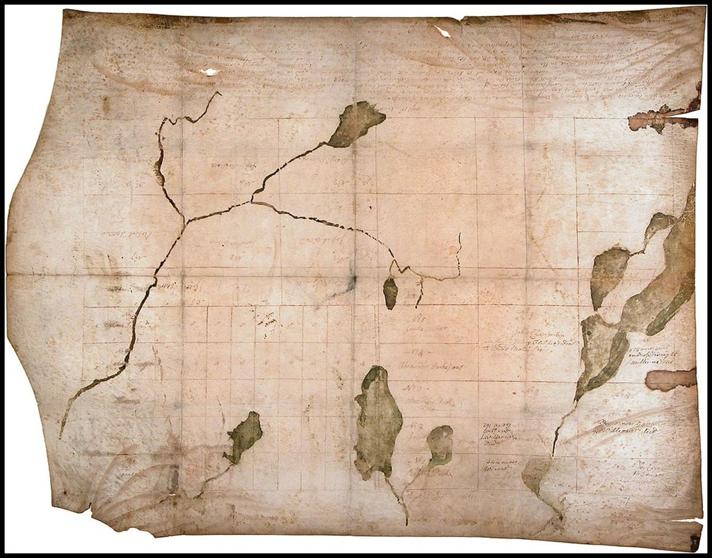A Plan of a Tract of Land called Monadnock Number six, 1768, Measured according to an agreement with Thomas Packer, Esq. as Follows... By Breed Batchelder