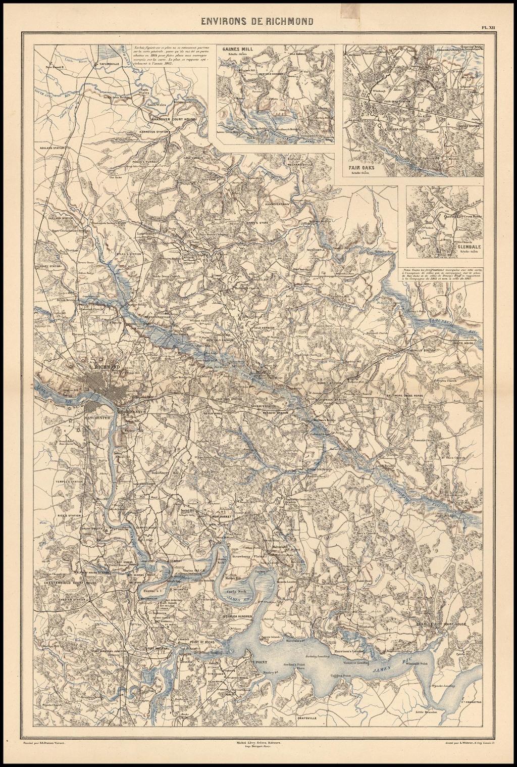 Environs de Richmond By Edouard Dumas Vorzet