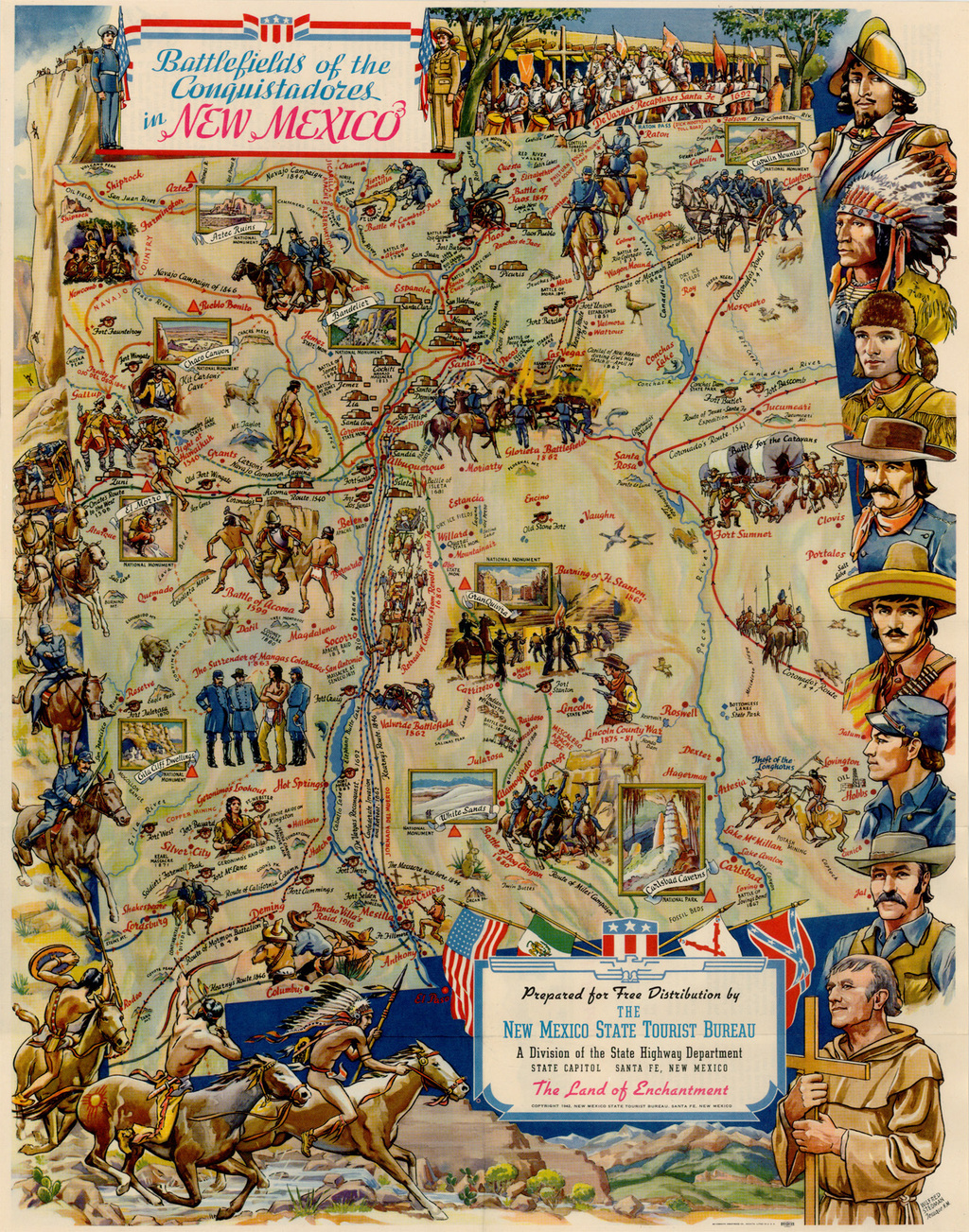 Battlefields of the Conquistadors In New Mexico [including