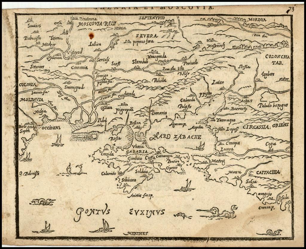 Gazaria et Moscovia By Zacharias Heyns
