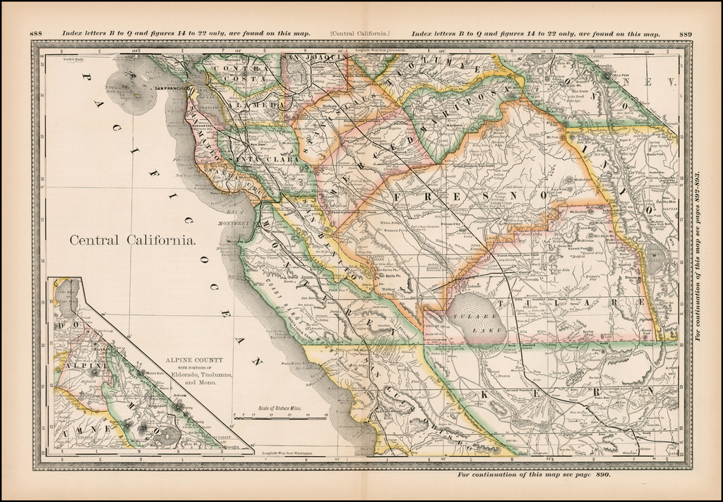Central California [San Francisco to San Luis Obispo ...