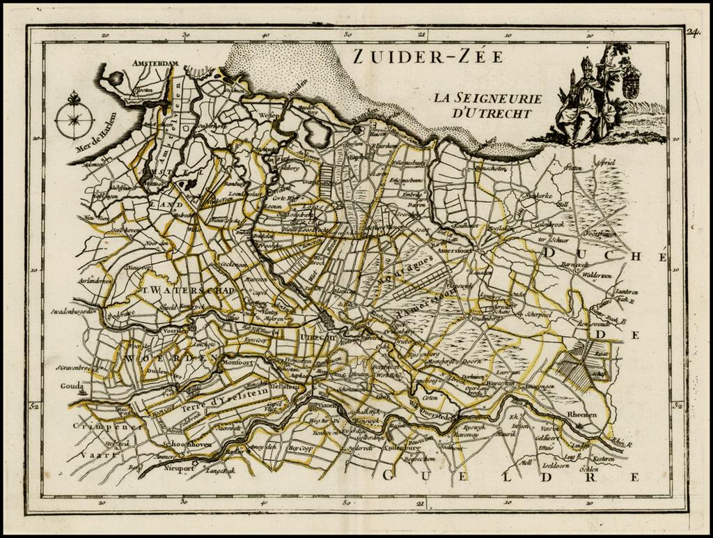 La Seigneurie D'Utrecht By George Louis Le Rouge