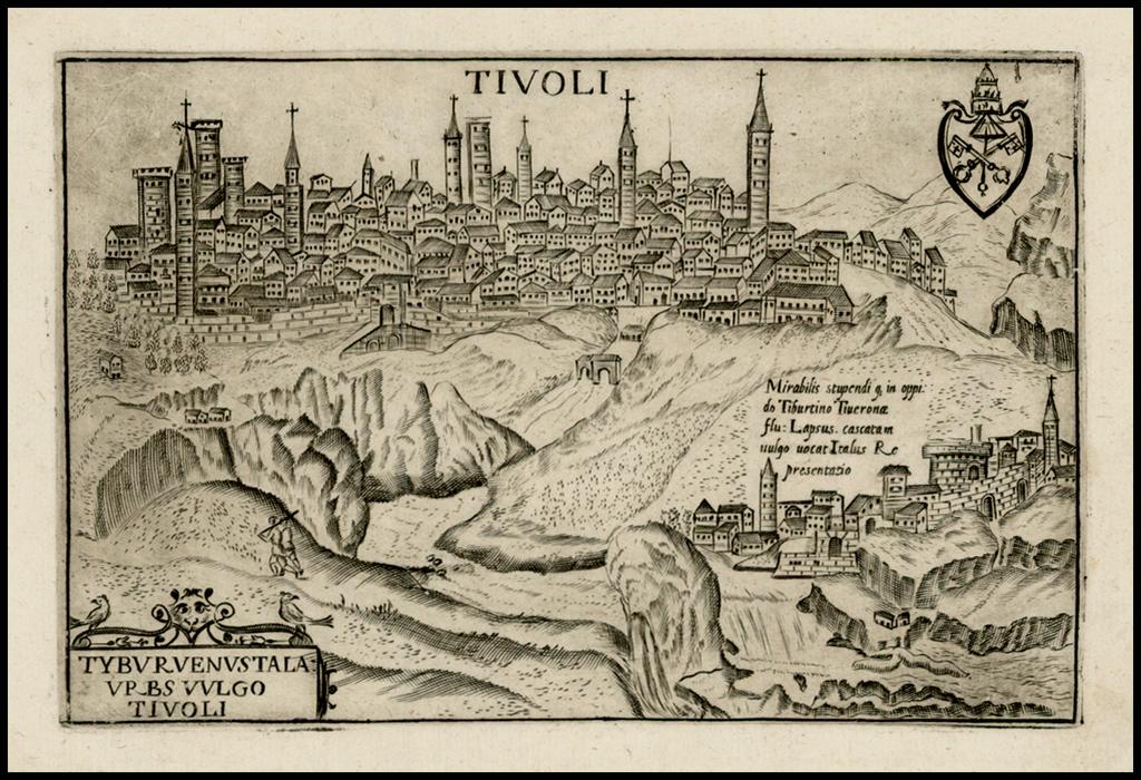 Tivoli -- Tyburuenustala Urbs Vulgo Tivoli By Pietro Bertelli