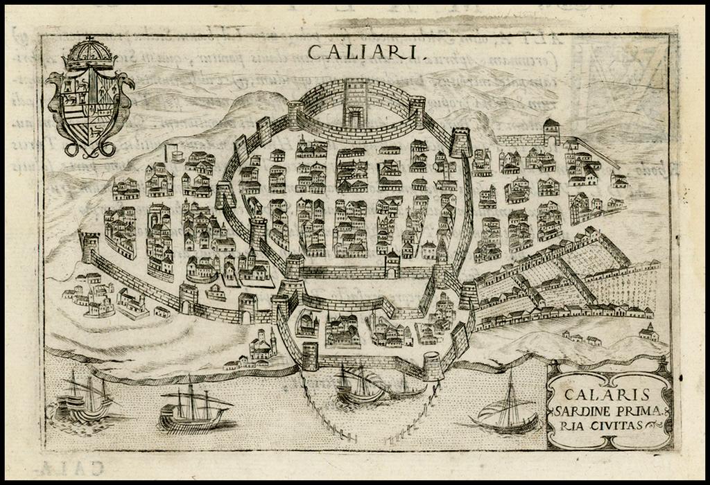Calaris Sardine Primaria Civitas By Pietro Bertelli