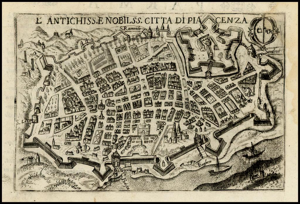 L'Antichiss E Nobilss Citta Di Piacenza By Pietro Bertelli