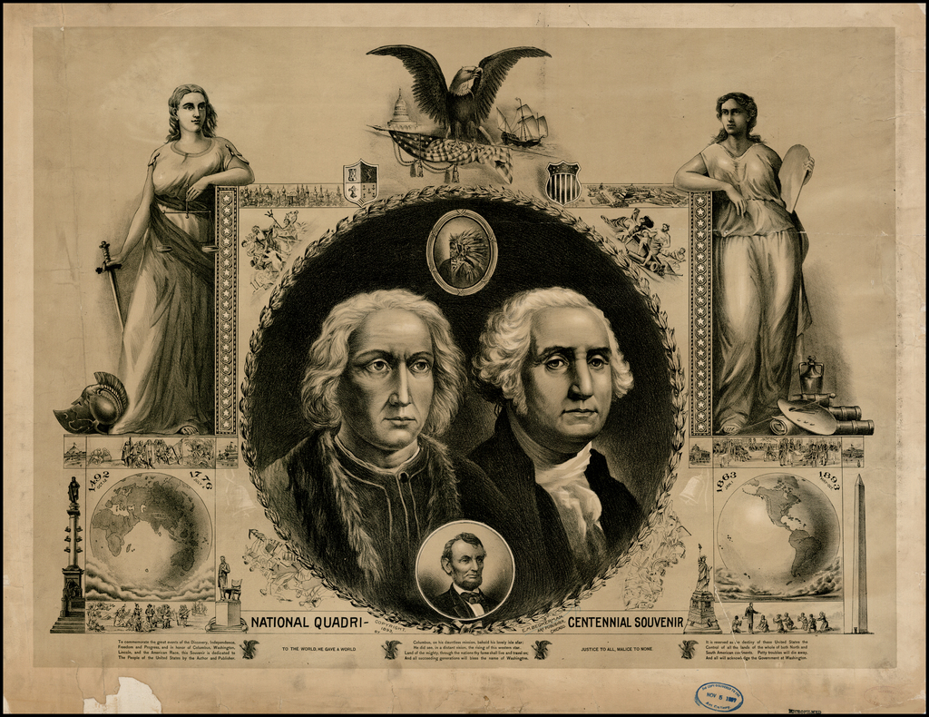 National Quadricentennial Souvenir By E.M. Beckerman