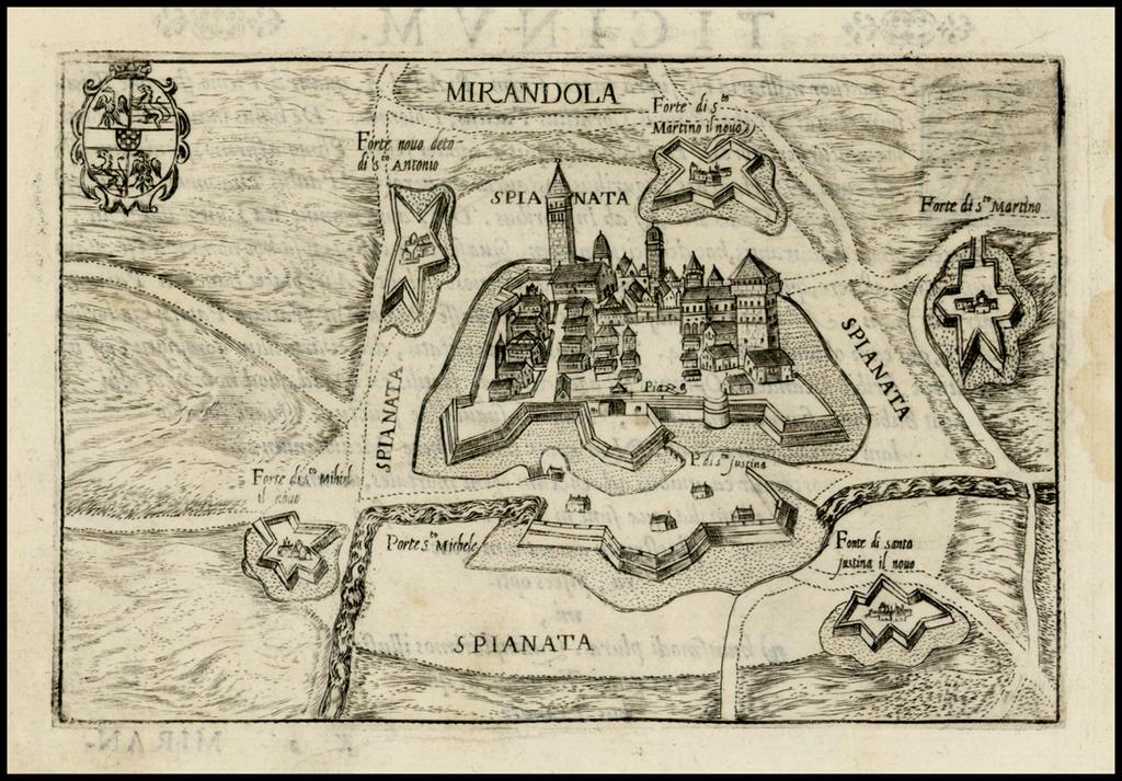 Mirandola By Pietro Bertelli