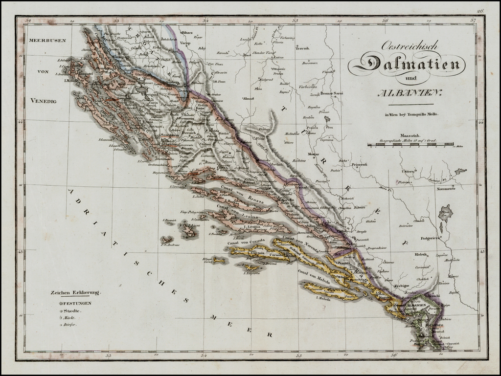 Oestreichisch Dalmatien und Albanien . . . By Tranquillo Mollo