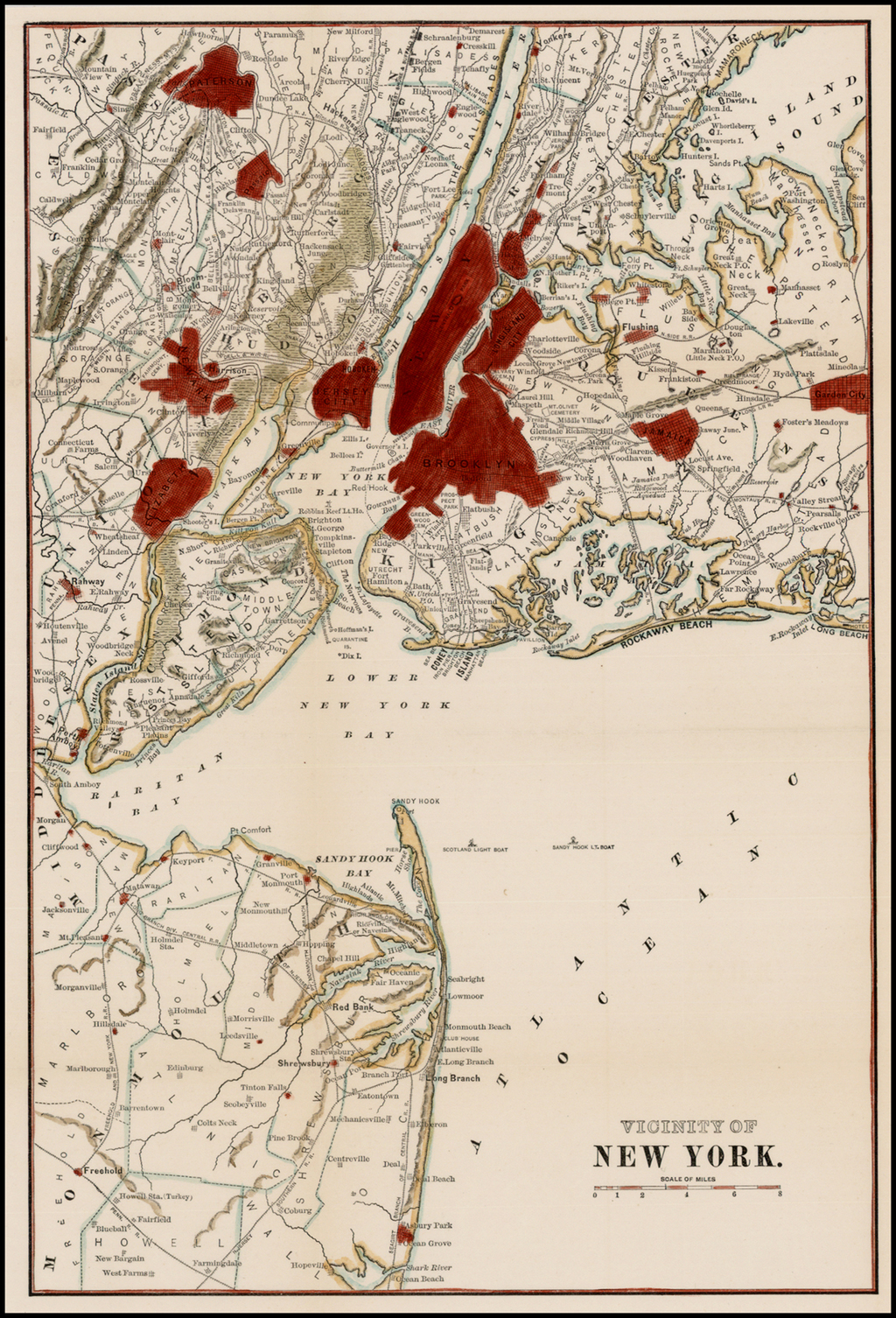 Vicinity of New York By Anonymous