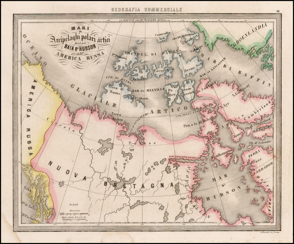 Mari Archipelaghi polari artici Dalla Baia D'Hudson all America Russa By Francesco Marmocchi
