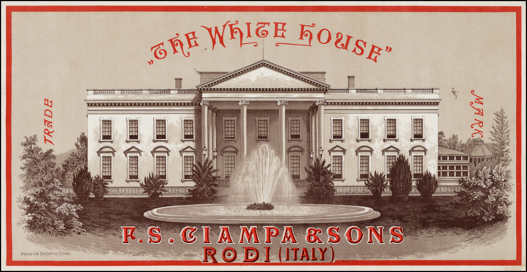 The White House  --  Ciampa & Sons Rodi (Italy) By Follette