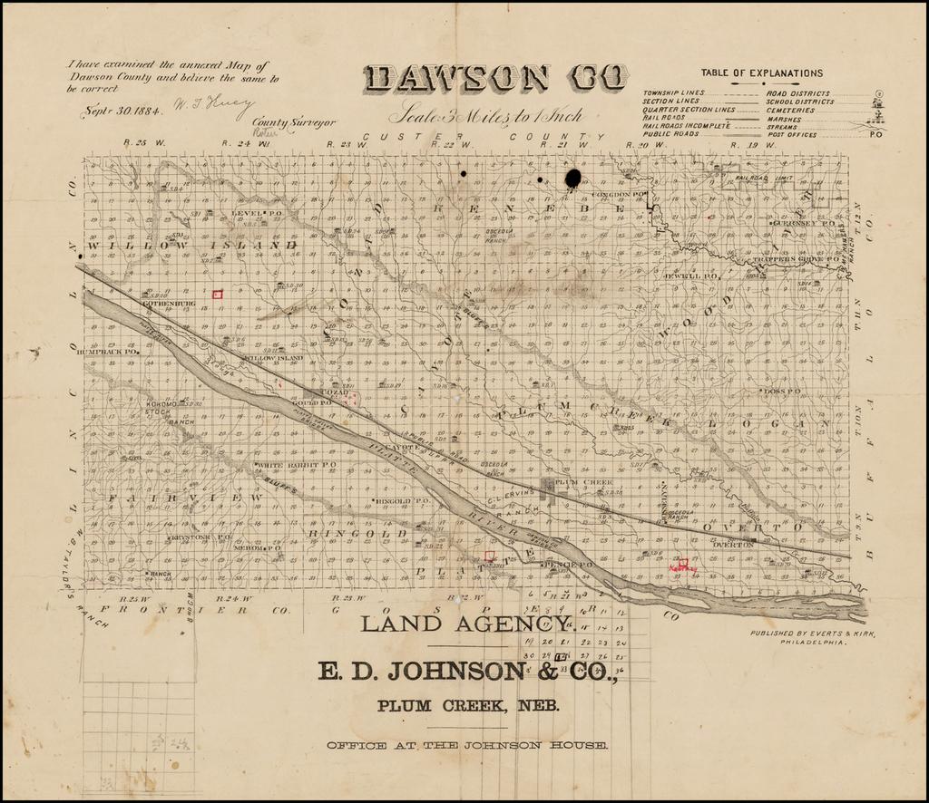 Dawson Co. (Nebraska) By Everts & Kirk