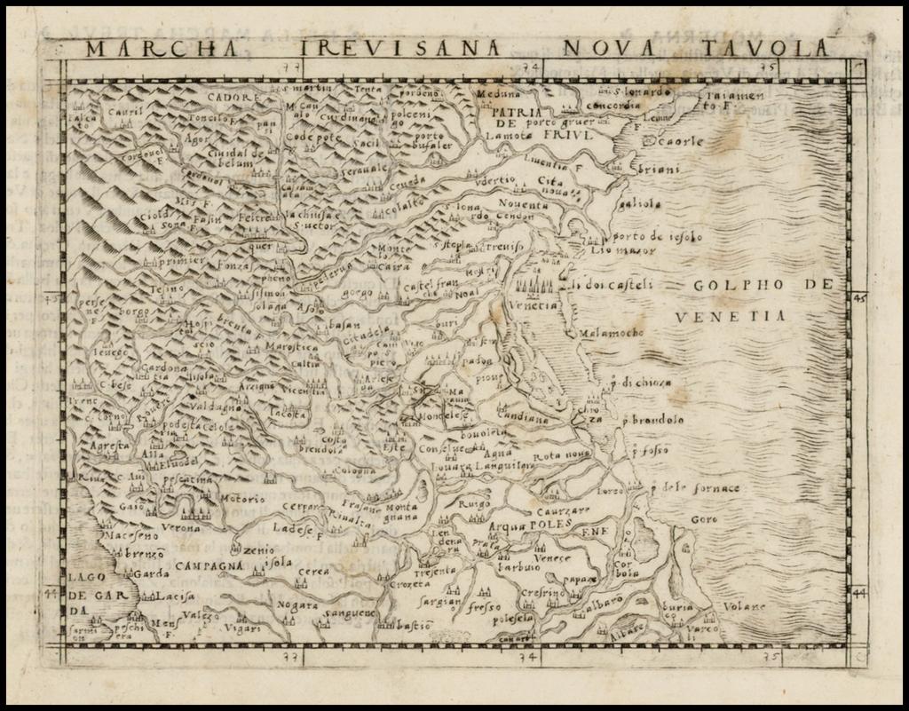 Marcha Trevisana Nova Tavola By Giacomo Gastaldi