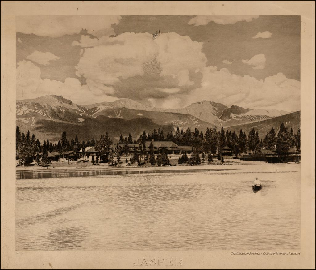 Jasper / The Canadian Rockies - Canadian National Railways By Canadian National Railway