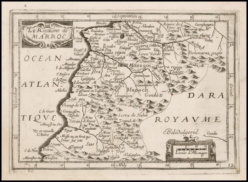 Le Royaume de Marroc By Jean Picart