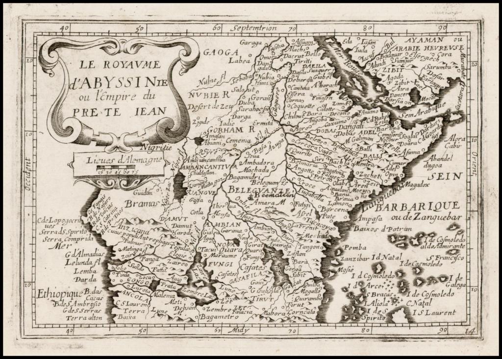 L'Royaume D'Abyssinie ou l'empire du Pre Te Jean By Jean Picart