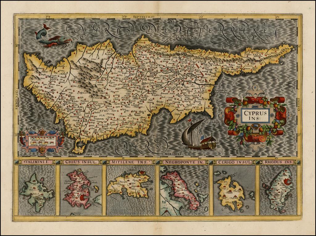 Cyprus Ins. By Gerard Mercator