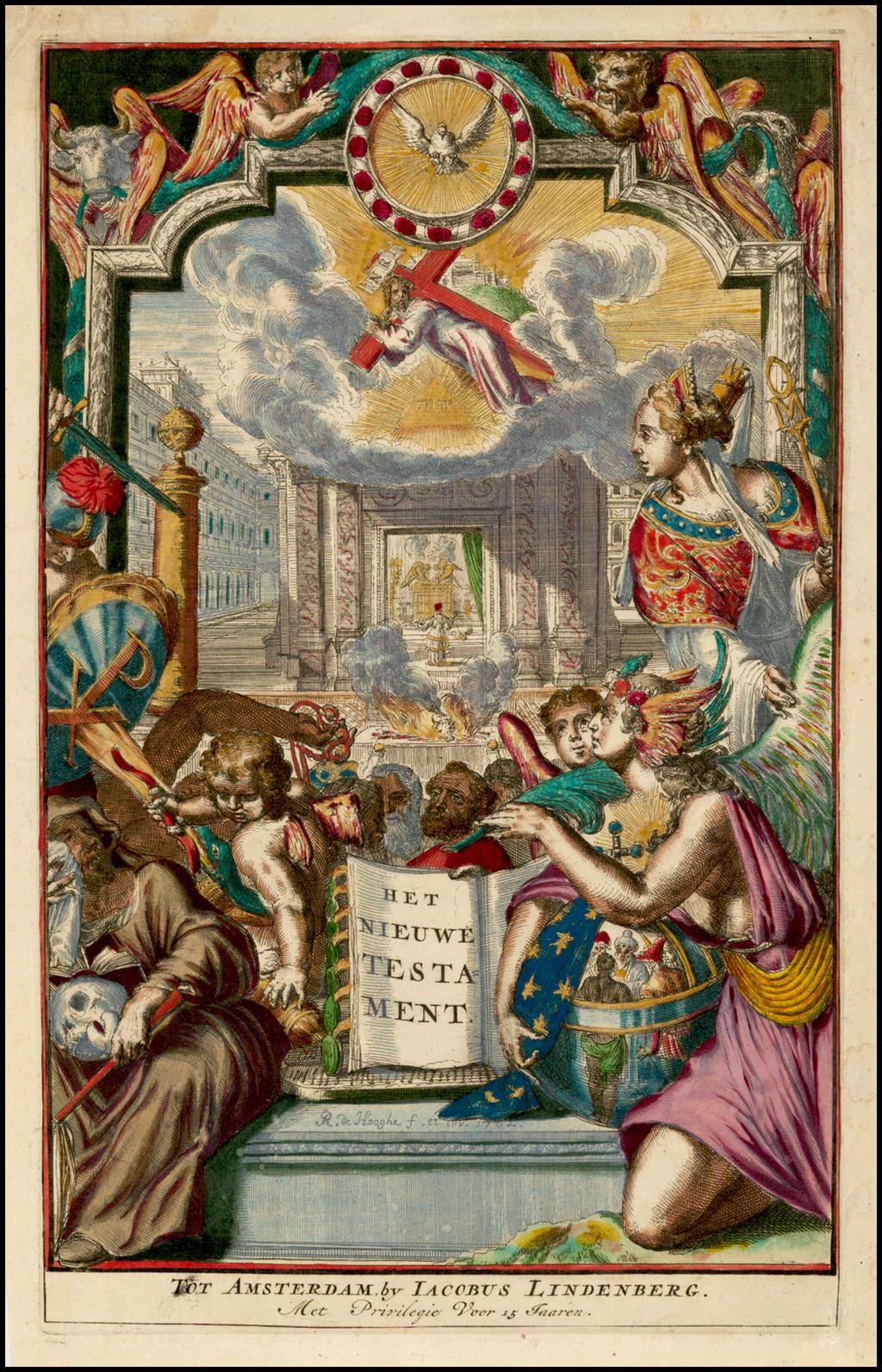 (Title Page) Het Nieuwe Testament By Romeyn De Hooghe