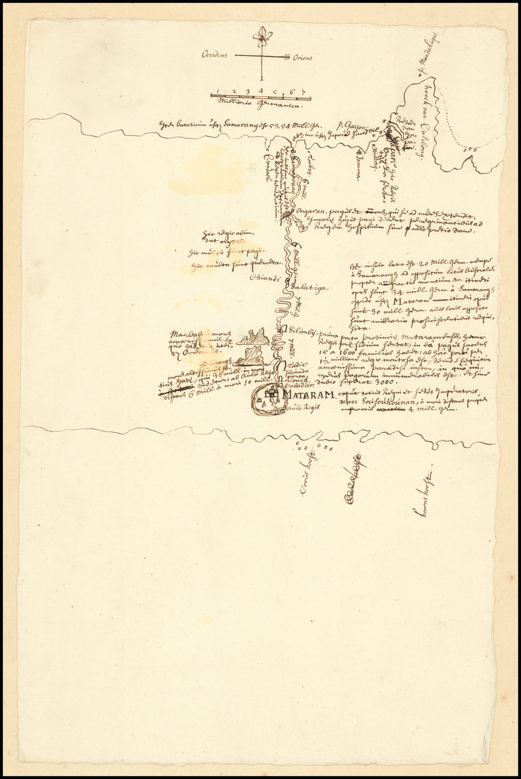 VOC Manuscript (Sultanate of Mataram -- Dutch Expedition to Surakarta, Central Java) By Anonymous